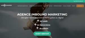 creation site web webconversion